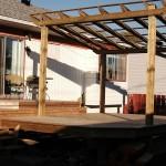 Avec la structure du toit...