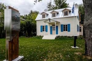 La maison Félix Leclerc fraîchement rénovée.